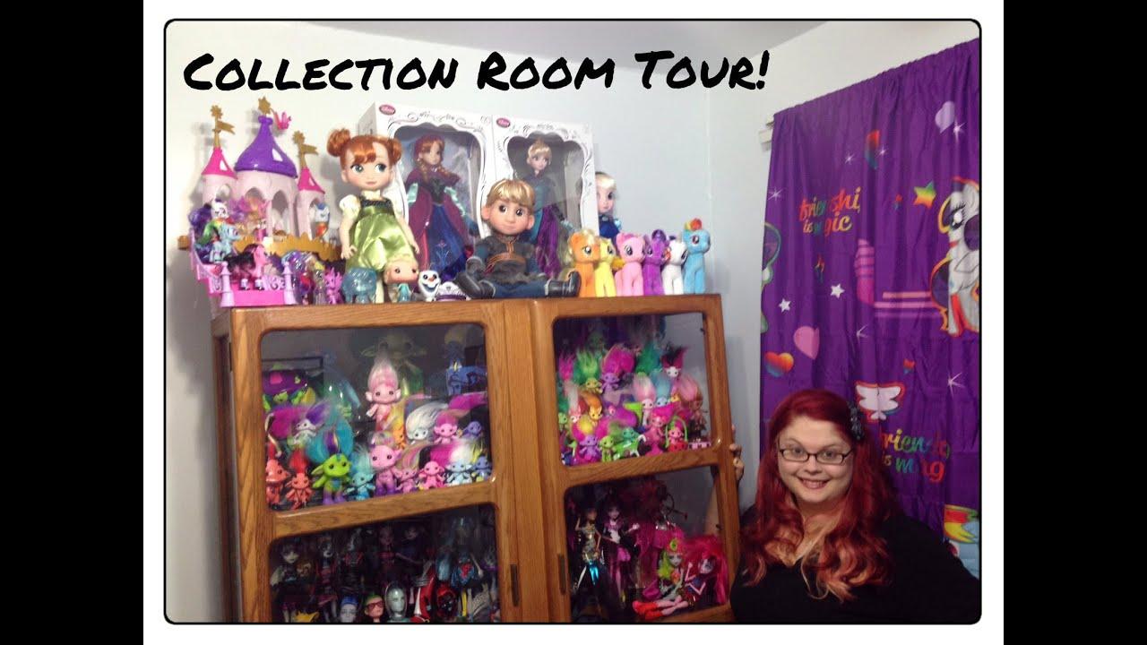 Collection Room TourEver After HighMonster HighFrozen