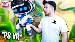 TAJEMNICZA PRZESYŁKA Z WIRTUALNEGO ŚWIATA! | Astro Bot: Rescue Mission