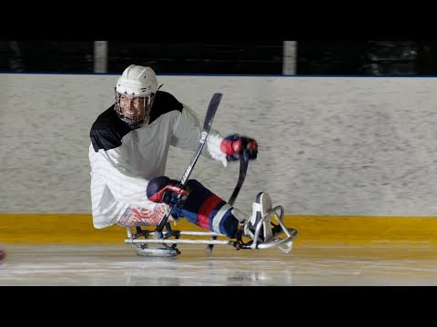 Power On The Ice: U.S. Sled Hockey