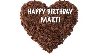 Martiespanol    pronunciacion en espanol   Chocolate - Happy Birthday