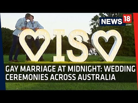 Gay Marriage in Australia | January 9 Historic Day for Same-Sex Marriage
