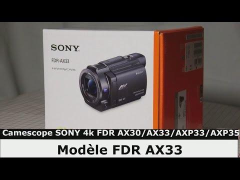 camescope sony 4k fdr ax33 ax30 axp33 axp35 d monstration test video youtube. Black Bedroom Furniture Sets. Home Design Ideas
