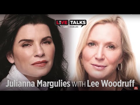 Julianna Margulies in conversation with Lee Woodruff at Live Talks Los Angeles