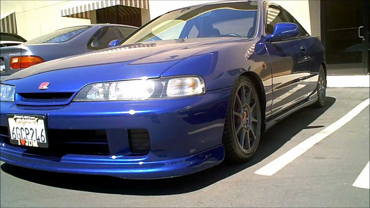 1994-1997 acura integra dc2 with jdm front end conversion and gun