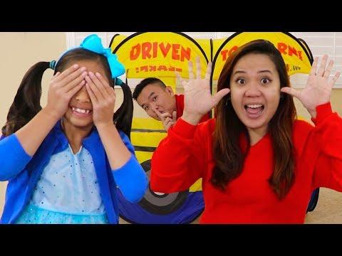 Peek a Boo Song | +Wendy Pretend Play w/ Sing-Along Nursery Rhymes & Kids Songs