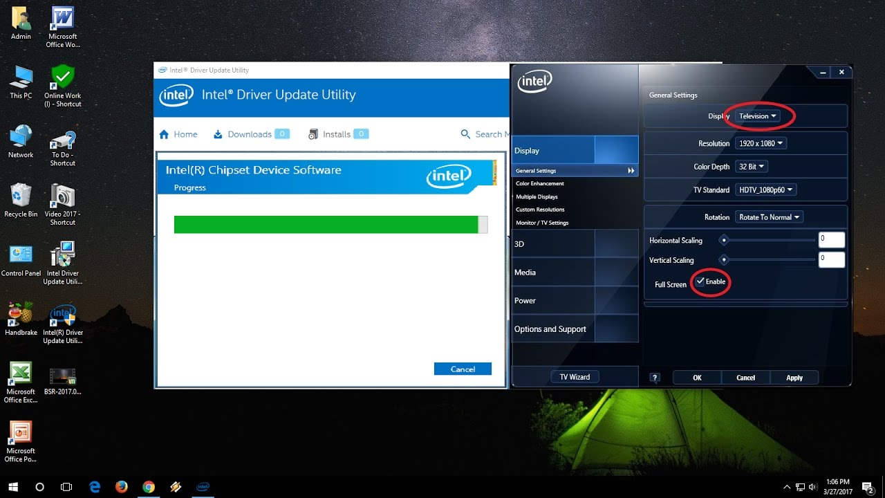 After installing intel hd graphics 4000 driver windows boots blank.