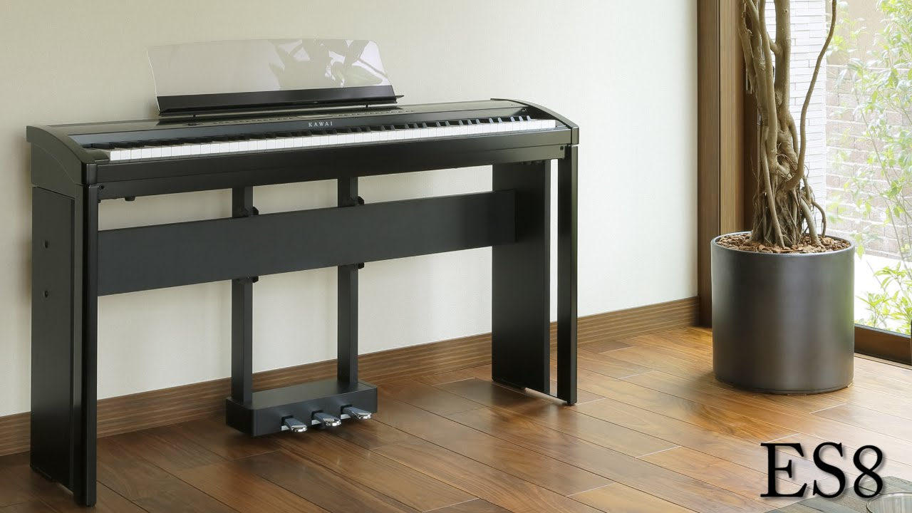 kawai es8 digital piano demo youtube. Black Bedroom Furniture Sets. Home Design Ideas