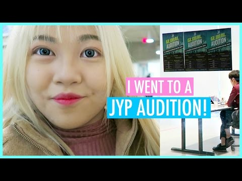 GOING TO THE JYP GLOBAL AUDITION! - YouTube