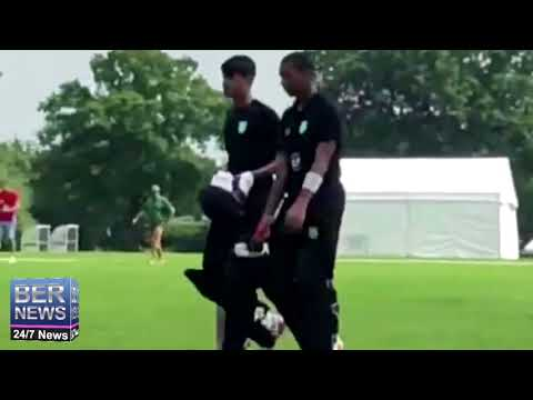 Cricketer Marcus Scotland In UK, May 27 2018