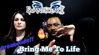 Evanescence Bring Me To Life Reaction!!!