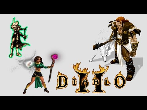 DIABLO 2 - WHAT CHARACTER TO START WITH ?