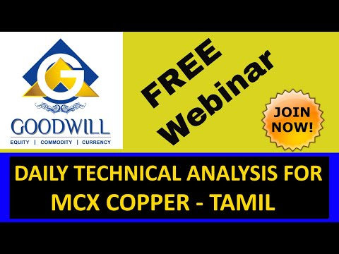 MCX COPPER TRADING TECHNICAL ANALYSIS SEP 18 2017 IN TAMIL