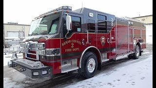 Coolest Firetruck Ever!  Check out this Detroit powered Pierce Fire fighting beast!