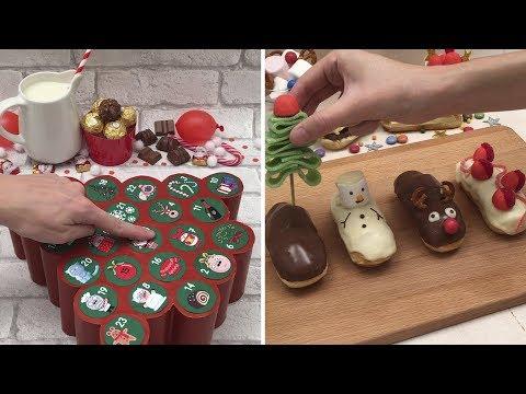 🎅Get ready for the Holidays with Chefclub⭐️ DIY Advent Calendars🗓 Centerpieces🎉 Bûche de Noël🍰