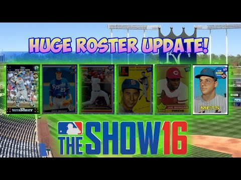 HUGE ROSTER UPDATE! TED WILLIAMS! 99 ALBERT PUJOLS! | MLB The Show 16 Diamond Dynasty | 8.5.15