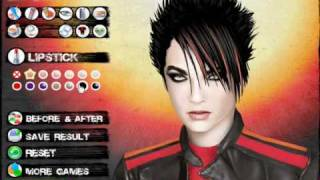 Tokio Hotel Makeover Game Review