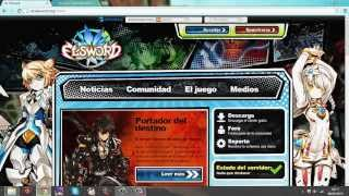 Video Criando conta e baixando Elsword Espanhol download MP3, 3GP, MP4, WEBM, AVI, FLV Oktober 2018