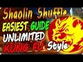 """Shaolin Shuffle Glitches: All Upgraded Unlimited Kung Fu Styles """"NO DOWNS"""" - Infinite Warfare"""