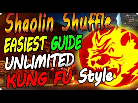 "Thumbnail: Shaolin Shuffle Glitches: All Upgraded Unlimited Kung Fu Styles ""NO DOWNS"" - Infinite Warfare"
