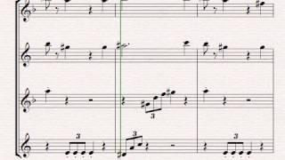 Super Smash Bros. Medlee for Saxophone Quartet