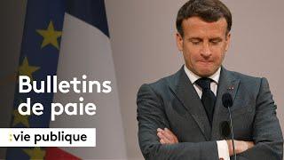 Pourquoi l'Elysée refuse de communiquer les bulletins de paie d'Emmanuel Macron