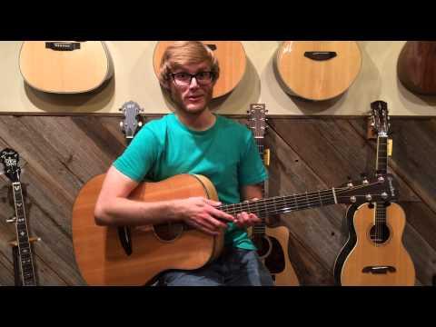 McGuire Music Demos the Breedlove Oregon Dreanought