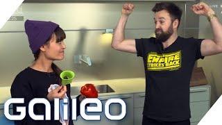 Messer vs. Küchengadget: Welches Gerät ist schneller? | Galileo | ProSieben
