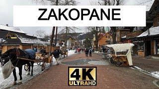 Zakopane walking tour in the morning!zakopane is a town extreme south of poland, southern part podhale region at foot tatra m...