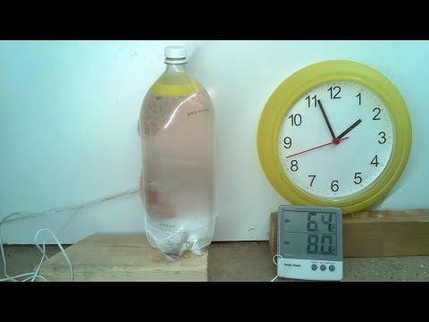 Spontaneous flash freeze experiments