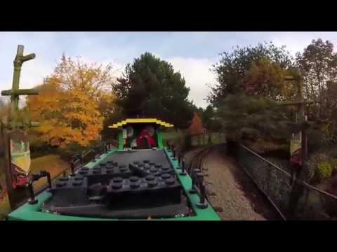 Legoland Heartlake City Express - A tour round on the Lego Steam Train