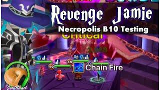 summoners war revenge jamie necropolis b10 testing