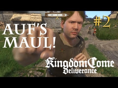 Let's Play Kingdom Come Deliverance #2: Auf's Maul!  (Tag 1 / Blind / deutsch)