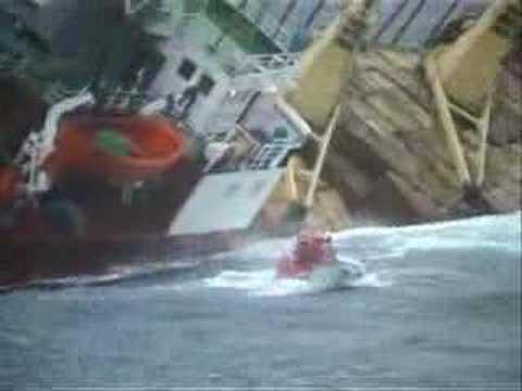 RIB Rescue Operation of M/V Silva