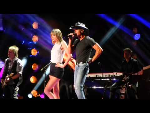 Taylor Swift - Highway Don't Care - CMA Fest 2013 with Tim McGraw and Keith Urban