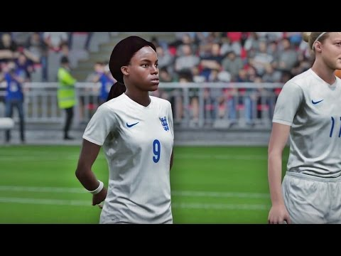 FIFA 16 I England - Canada I Women's National - Gameplay 1080p Full Game