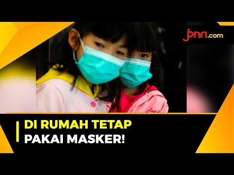 Klaster Keluarga Meningkat, Warga Diminta Pakai Masker di Rumah