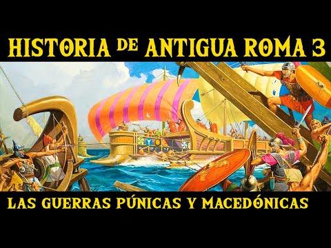 ANTIGUA ROMA 3: Las Guerras Púnicas, Macedónicas, Y Las Reformas De Los Graco Y Cayo Mario