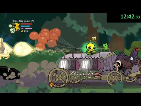 Castle Crashers Lvl 256 Speedrun 37:00
