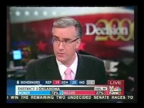 Keith Olbermann & Mathews (Pt. 1) 2006 Election Night Highlights