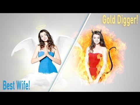 gold digger dating signs
