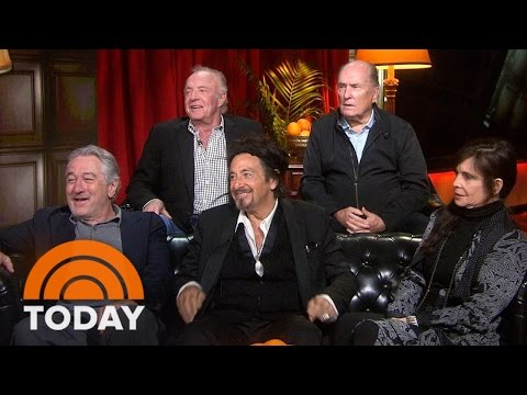 'Godfather' Reunion: Al Pacino, James Caan, Robert Duvall Reveal Secrets  TODAY