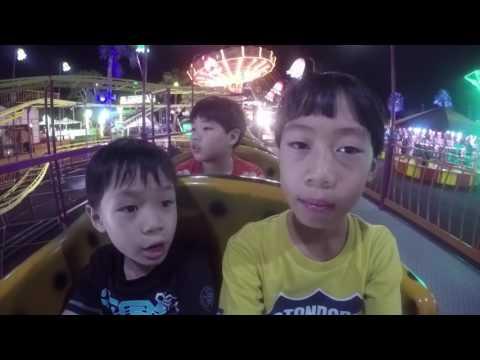 Travel with Kids หอบลูกเที่ยวสวนสนุก Chang Global Carnival