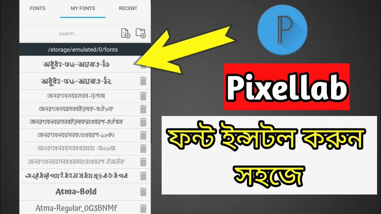 Download Free download Install Custom Fonts In Pixellab 2021 ...