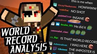 How A Minecraft Speedŗunner Beat the World Record DURING A TOURNAMENT