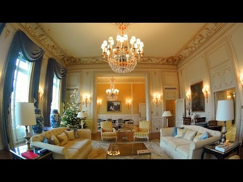 Check out the most expensive hotel suite in Paris - Imperial Suite at the Shangri-La