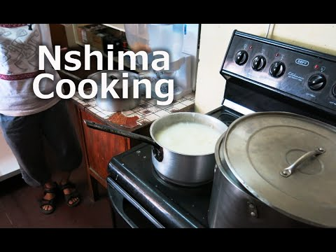 Nshima Cooking