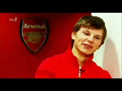 Team mates - Arshavin - Arsenal