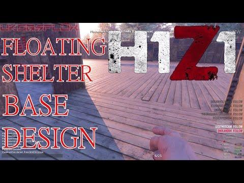 H1Z1 Base Design Floating Shelter Base