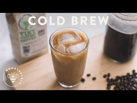 Easy Cold Brew Coffee Recipe – COFFEE BREAK SERIES