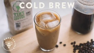 Easy Cold Brew Coffee Recipe - COFFEE BREAK SERIES